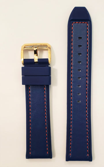 Bulova Marine Star 97B168 Blue Rubber 22mm Watch Band