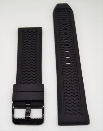 Bulova Marine Star 98B223 Black Rubber 24mm Watch Band
