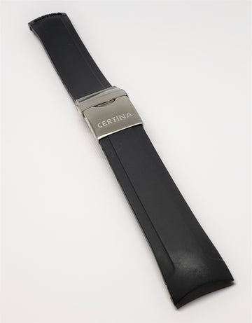CERTINA C-SPORT C53670984266 Black Rubber Watch Band