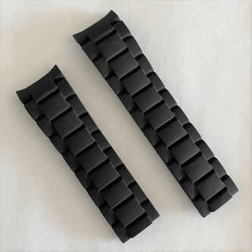 CERTINA DS Action C013407A / C013417A Black Rubber Watch Band