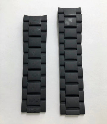 CERTINA DS Action C013410A Black Rubber Watch Band - WATCHBAND EXPERT