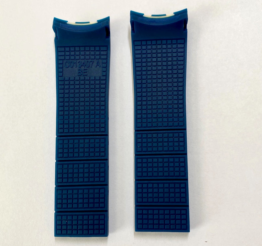 CERTINA DS Action Diver C013407A Blue / White Rubber Band Strap