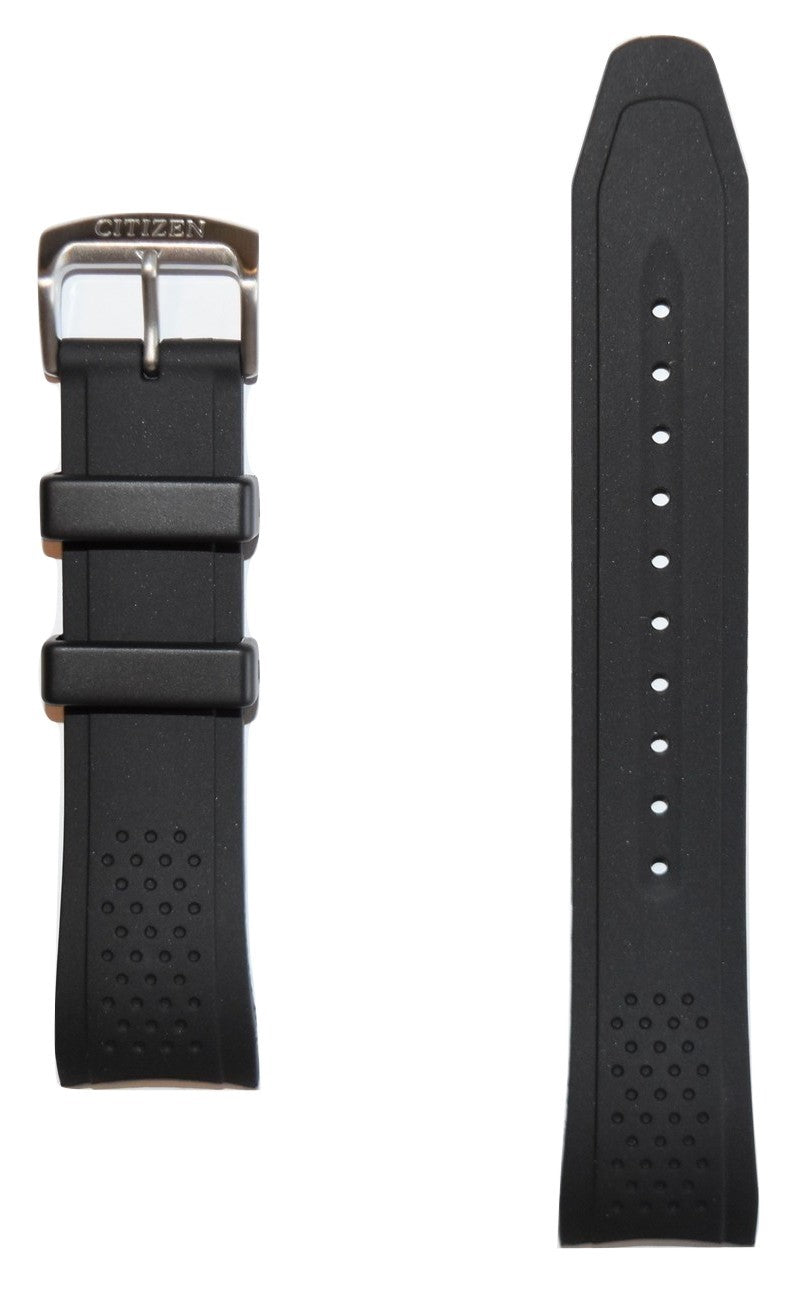 Citizen AR Men's Drive Black Rubber Band Strap for Watch AW1151-04E - WATCHBAND EXPERT
