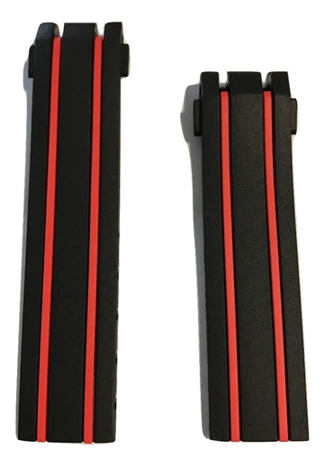 Tissot T-Race MotoGP/ Stefan Bradl Black/ Red Band Strap for T092417A - WATCHBAND EXPERT