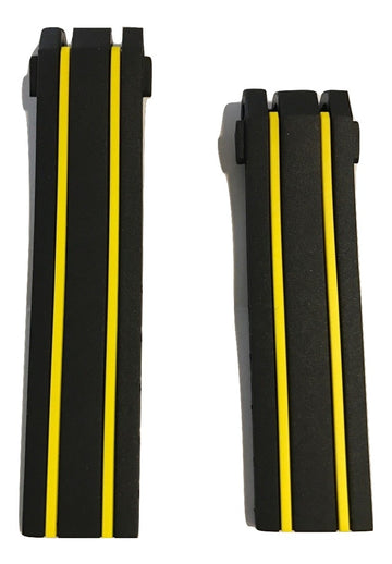 Tissot T-Race Thomas Luthi Black/ Yellow Band Strap for T092417A - WATCHBAND EXPERT