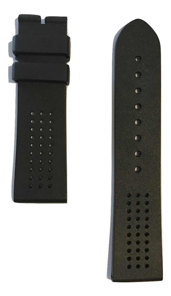 Movado Museum Sport Black Rubber Band for 0606545, 0607002, 0606507, 0660003 - WATCHBAND EXPERT