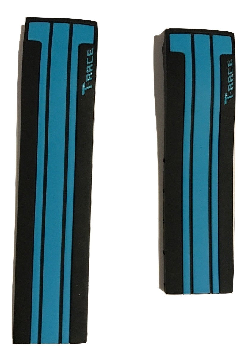Tissot T-Race Moto GP Black Blue Rubber Band Strap for T048417, T048427 - WATCHBAND EXPERT