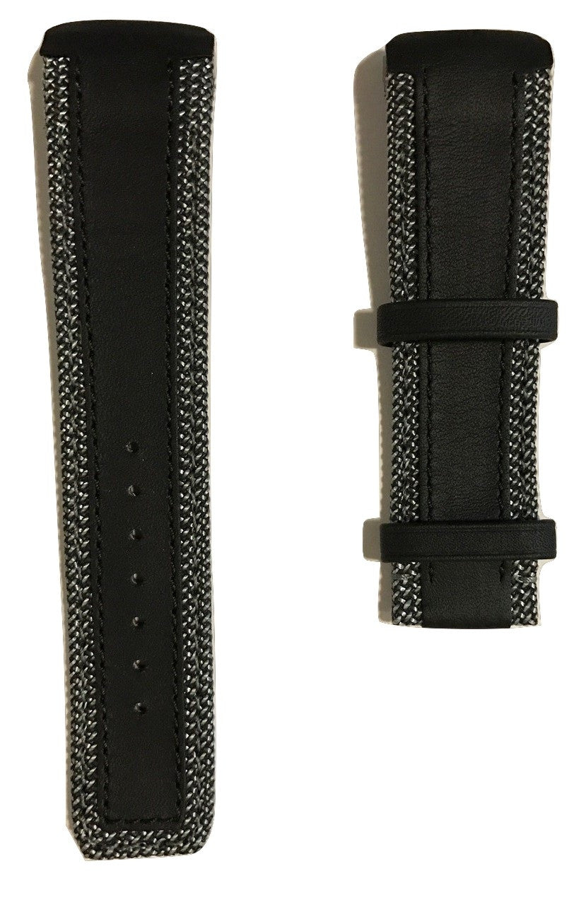 Tissot T-Touch Expert SOLAR Black Leather 20mm Band Strap for T091420A - WATCHBAND EXPERT
