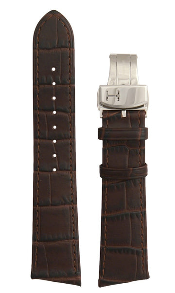 Hamilton Ventura Men's 21mm Brown Leather Watch Band