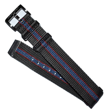Hamilton Pan Europ 22mm Grey Nato Watch Band