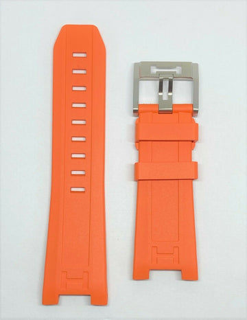 Hamilton Khaki Navy SUB H787160 Orange Rubber Watch Band