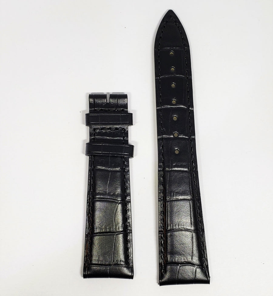 Longines 20mm Black Leather Watch Band # L682101263