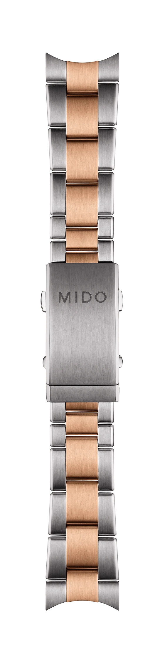 MIDO Ocean Star M026430A Rose-Gold Silver Steel Watch Band