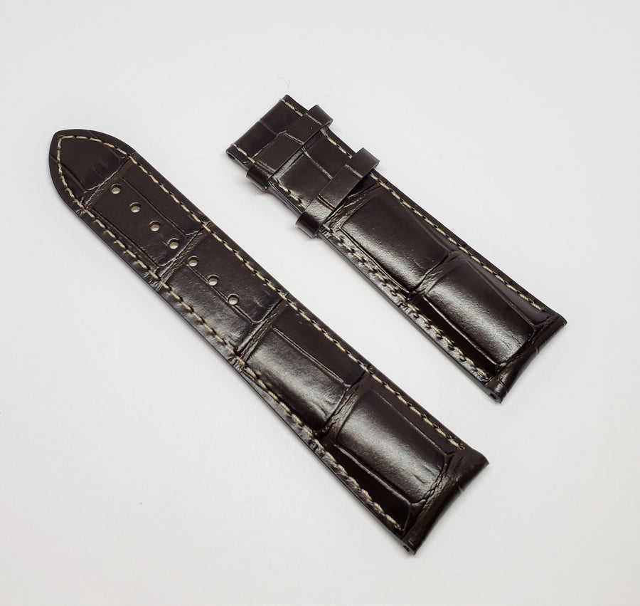 mido brown leather band