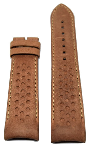 MIDO Multifort 23mm Brown Leather Band Strap For Model: M025627A - WATCHBAND EXPERT