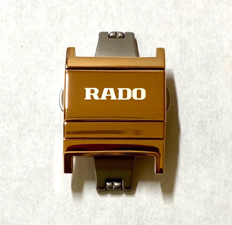 RADO Integral Rose Gold Clasp Buckle # 05077 - WATCHBAND EXPERT