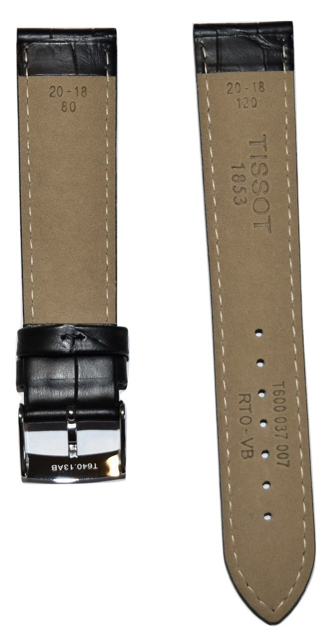 Tissot PR 100 Black Leather Strap