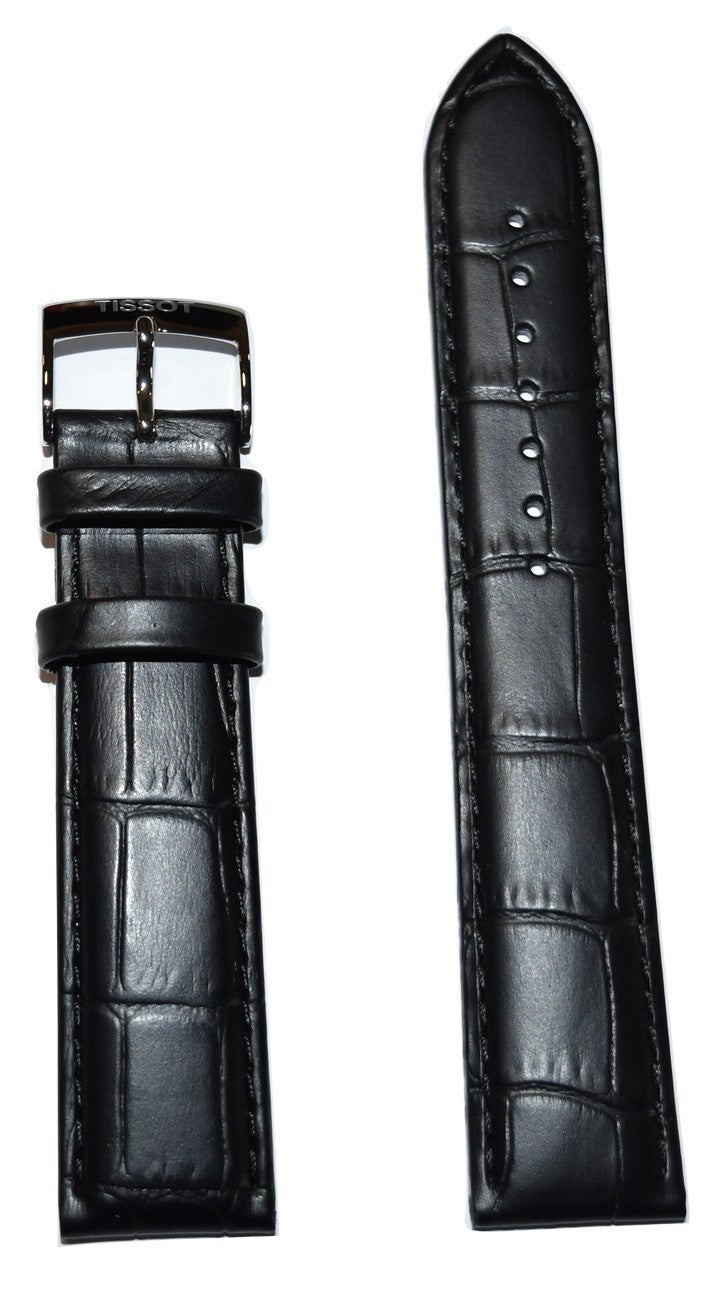 Tissot PR 100 Black Leather Band