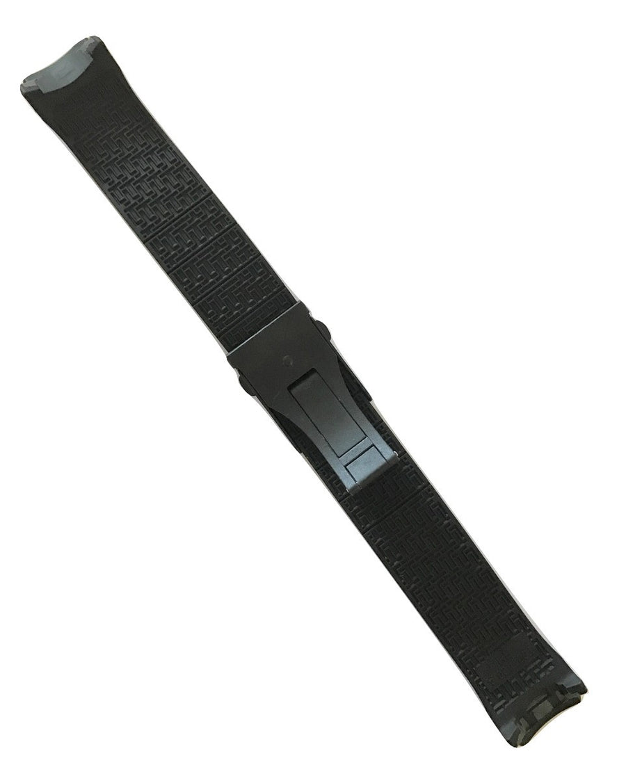 Tissot T-Touch Expert SOLAR T091420A Black Rubber Band Strap w/ Buckle