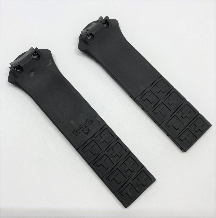 Tissot T-Tracx T010417A Black Rubber Watch Band