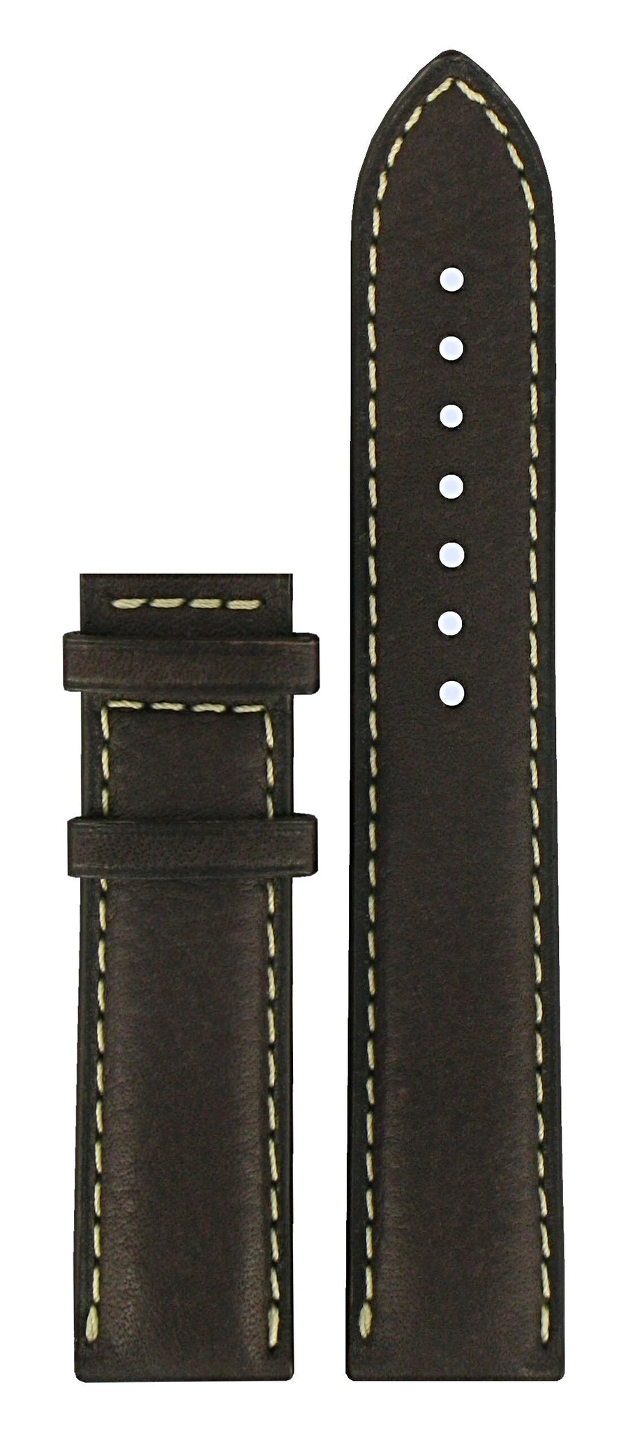 Tissot PRC 200 T014410A / T014421A Brown Leather Watch Band