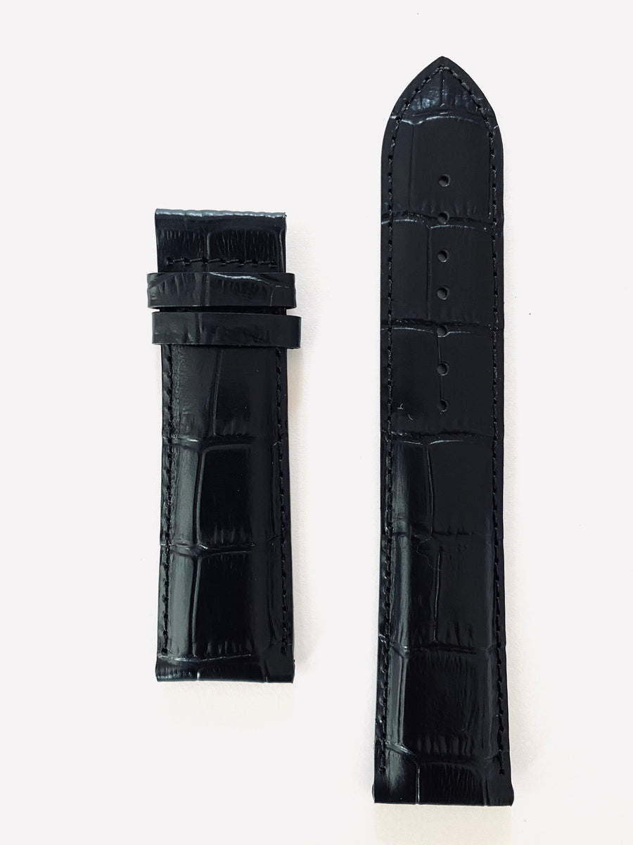 Tissot T-Lord T059527A 22mm Black Leather Watch Band