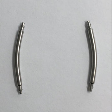Hamilton 22mm Curved Spring Bar Pins (Set of 2) - WATCHBAND EXPERT