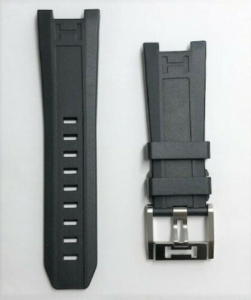 Hamilton Khaki Navy SUB H787160 Black Rubber Replacement Strap