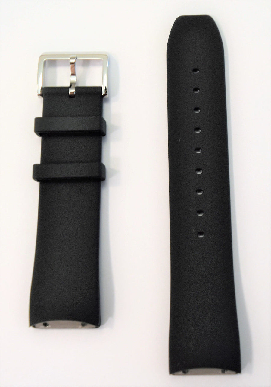 Movado EDGE MO.02.1.14.6187 Black Rubber Watch Band