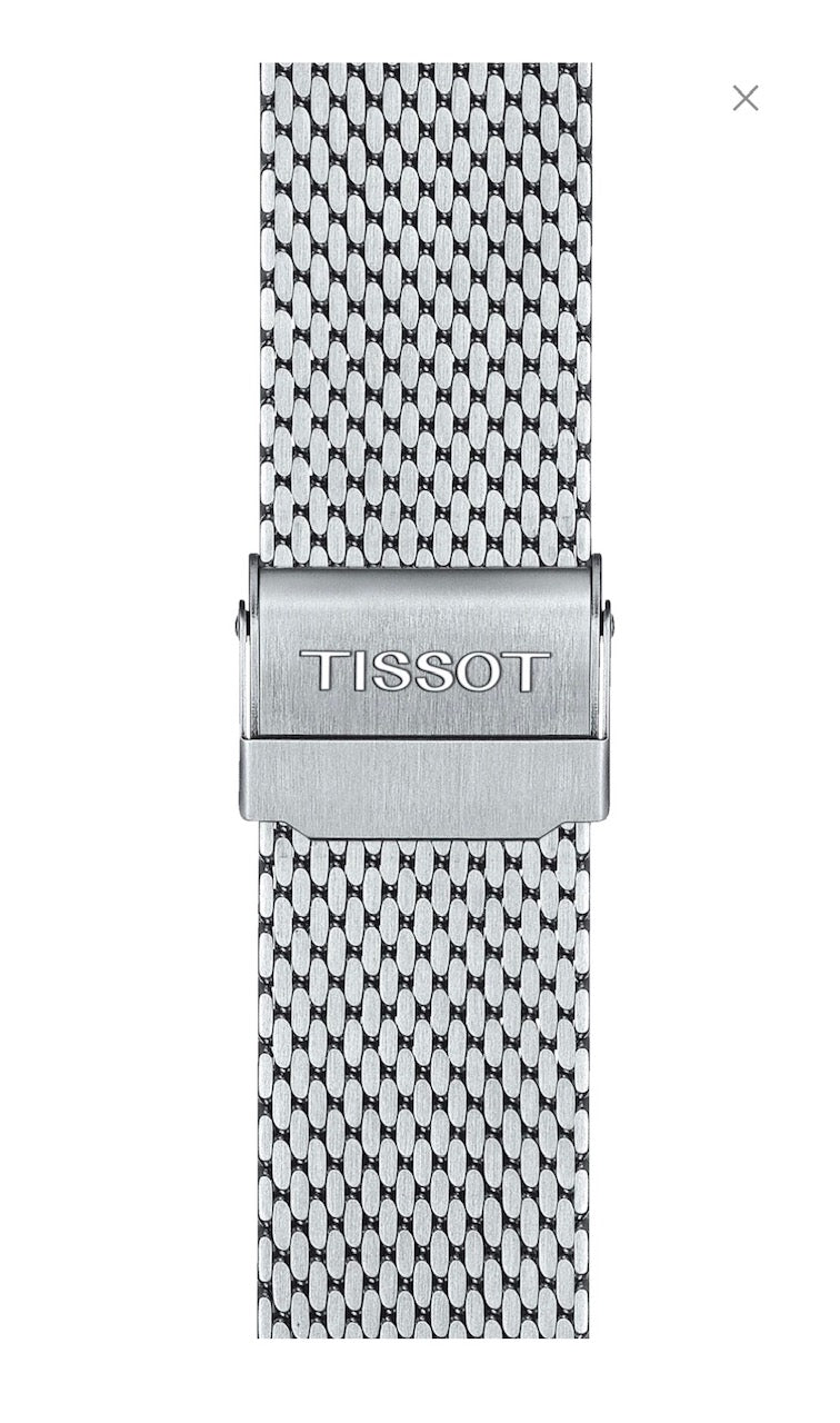 Tissot Seastar T120417A Steel Mesh Watch Band Strap
