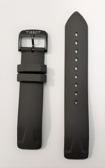 Tissot T-Race Touch T081420A Black Rubber Watch Band