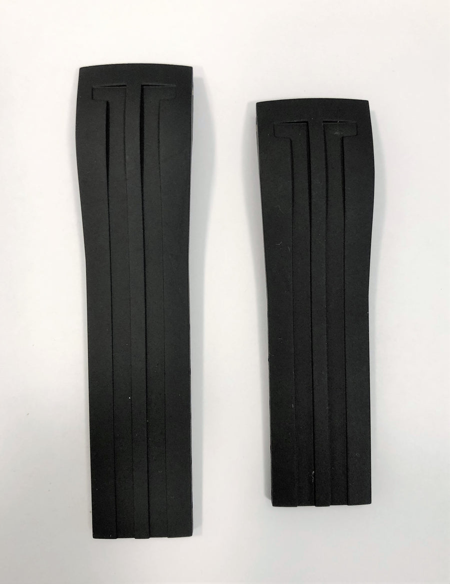 Tissot Racing Touch T002520A Black Rubber Watch Band