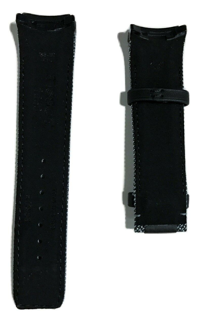 Tissot T-Touch Expert SOLAR T091420A Black Leather Watch Band