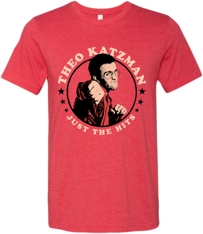 Theo Katzman - Just The Hits Red T-shirt