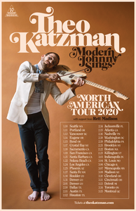 Theo Katzman - Modern Johnny Sings Tour Poster
