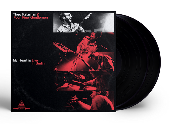 THEO KATZMAN | My Heart is Live in Berlin - 2-Disc Vinyl