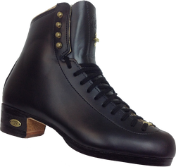 Riedell 75Blk Gold Star Black