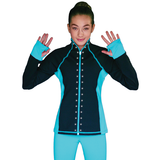 Elite Skating Jacket with crystals JS792-CRY-CN
