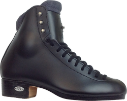 Riedell 91BlkNB Flair Black Boot Only