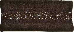 Fleece Headband with Crystals