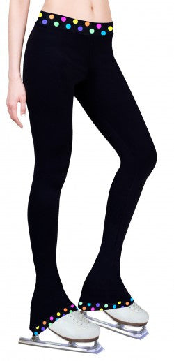 NY2 Color Waist Band Leggings NY2-P10102 - Child Small