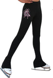 Classic Polar Fleece Pants with Mini Crystal Design P83-BBMC-CN