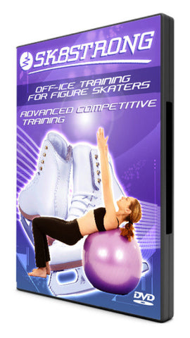 SK8Strong Advanced Competitive Training DVD