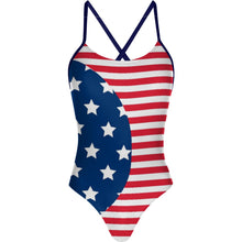 Load image into Gallery viewer, Stars and Stripes - Tieback One Piece