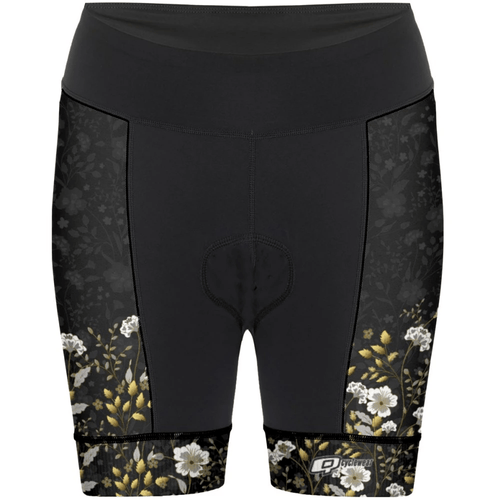 Golden Flowers - Shorts de ciclismo - Aquashop