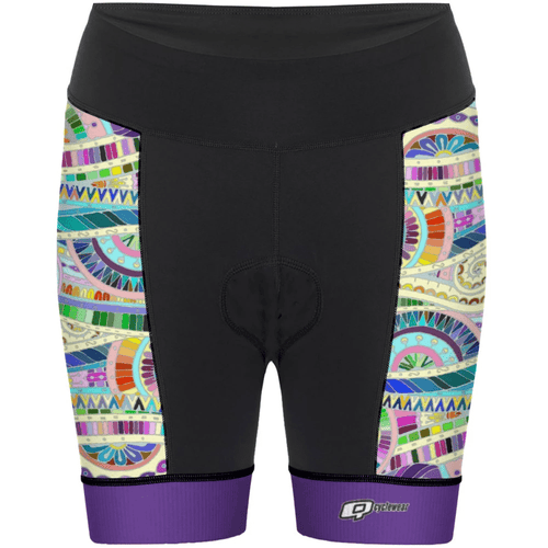 Purple Mandala - Shorts de ciclismo - Aquashop
