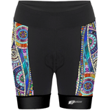 Mandala Colors - Shorts de ciclismo - Aquashop