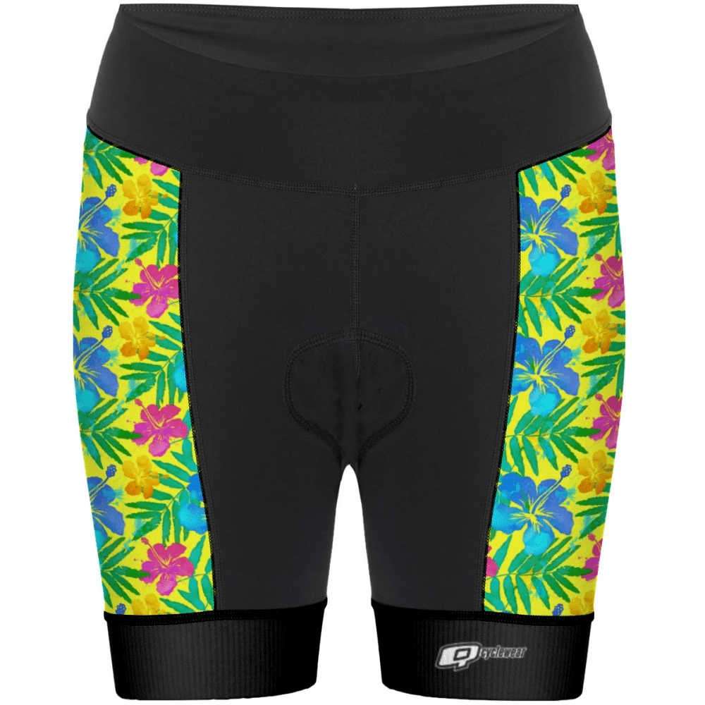 Yellow Flowers - Shorts de ciclismo - Aquashop
