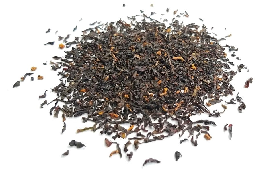A great, full-bodied breakfast tea with a soothing floral taste and roasted finish. Deliciously spunky!
