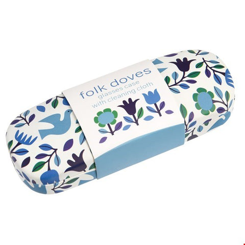 Folk Doves Glasses Case